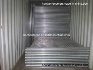 40mm Pipe Hot Dipped Galvanized Temporary Fence Panel pictures & photos