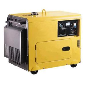 5kw Slient Type Portable Diesel Generator (PF6000ES)