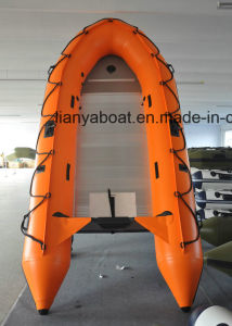 Liya 3.8 to 6.5m Cheap Aluminium Deck Plywood Deck Foldable Inflatable Boat pictures & photos