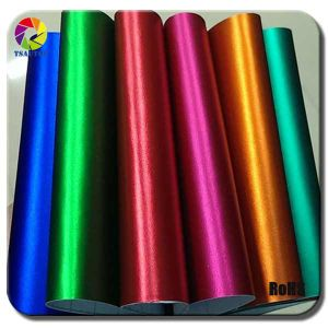 Tsautop 11 Colors Matte Chrome Vinyl Foil for Car Wrapping pictures & photos
