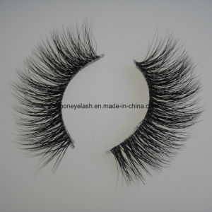 Cosmetic Makeup 3D Clear Band Eyelashes False Lashes pictures & photos