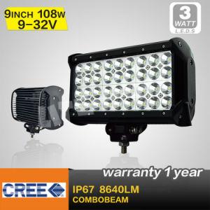 9 Inch 108W Quad Row LED Light Bar (SM-942)