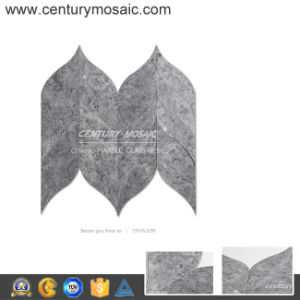 Modern Design Seamless Babylon Grey Marble Mosaic Tiles