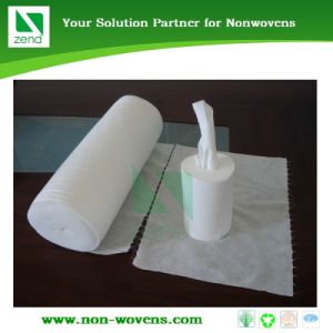 100% Polyester Spunlace Wipes pictures & photos