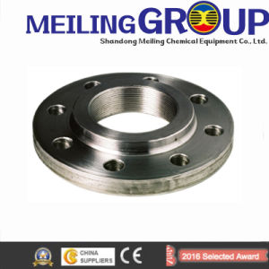 Meiling Hot Sale Forged Flat Stainless Steel, Carbon Steel ANSI GOST Flange, Pn16 Flange pictures & photos