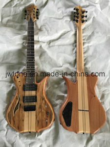 Spalted Maple Top 7string Quality Electric Guitar pictures & photos