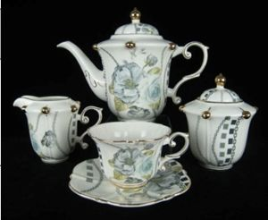14PCS New Bone China Teaset pictures & photos