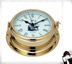 Gl195 Roman Dial with Sail 180mm Nautical Quartz Clock pictures & photos