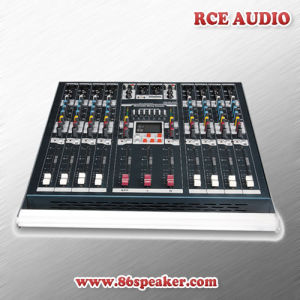 8 Channel Powered USB Audio Mixer, PRO Audio Mixing Console