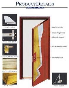 Steel Fire Door with UL 10 (C) Certified Fire Rating 180 Mins pictures & photos
