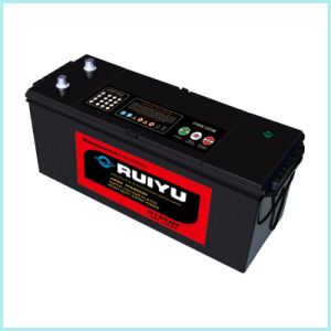 12V Starting Lead Acid Auto Battery N120 pictures & photos
