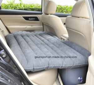PVC Inflatable Car Travel Car Mattress, Inflatable Car Air Bed pictures & photos