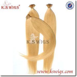 I-Tip Keratin Hair Virgin Remy Indian Hair pictures & photos