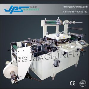 PVC Sleeve Label Die Cutting Machine with Hot Foil Stamping pictures & photos