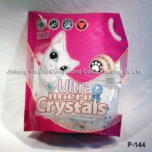 Back Corner Sealed Cat Litter Bag pictures & photos