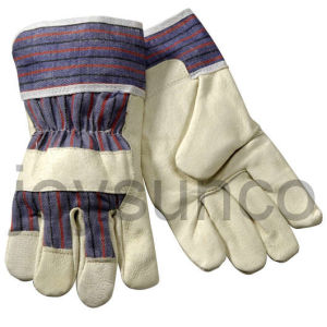 Industrial Safety Gloves Leather Working Glove (PA308)