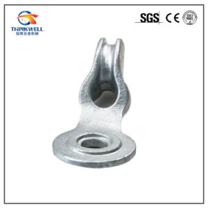 Forged Galvanized Pole Line Fittings Angle Thimbleye Eyelet pictures & photos
