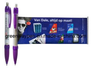 Plastic Banner Pen (GW-801) - 5