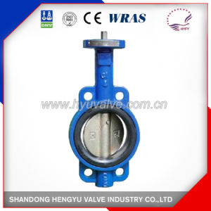 Wafer Type Butterfly Valve with Bare Shaft pictures & photos