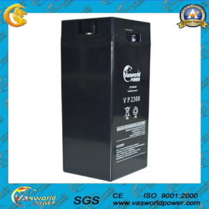 6V160ah Long Life AGM Lead Acid Solar Battery pictures & photos