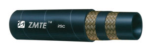 SAE100 R2 Spiral High Pressure Flexible Oil Hydraulic Rubber Hose pictures & photos
