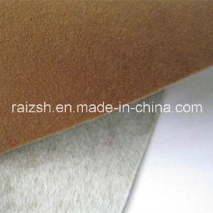 PVC Flocking Cloth Spunlaced Sports and Leisure Apparel Fabrics pictures & photos