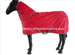 Red Waterproof Ripstop Designer Horse Rugs (SMR1596) pictures & photos