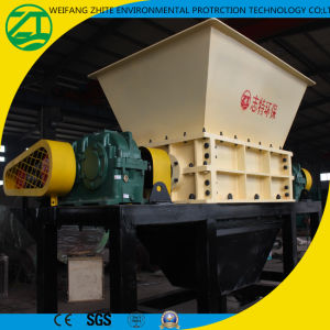 Double Shaft Shredder for Waste Tyre/Rubber/Drum/Woven Bags pictures & photos