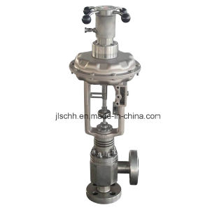 K311 Pressure Balanced Single-Seated Angle Control Valve
