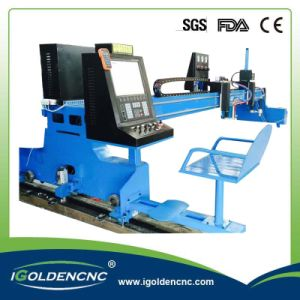 Gantry CNC Flame Plasma Cutting Machine pictures & photos