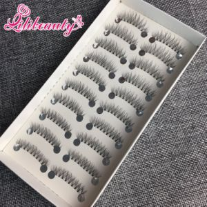 Real Siberian Mink Eyelashes Natural Style with Beautiful Custom Packaging pictures & photos