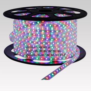 RGB LED Light 60LEDs/M Flexible LED Strip (G-SMD5050-60-220V-RGB) pictures & photos