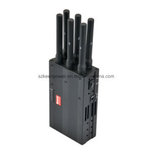 2014 New Handheld 6 Bands 4G Lte 4G Wimax Cell Phone Jammer 4G Jammer 3G Jammer pictures & photos