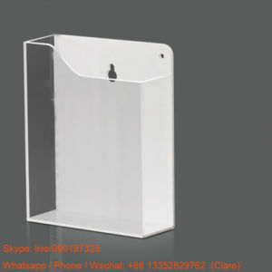 Wall Mounted Acrylic Brochures Holders Stands pictures & photos
