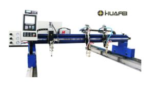 Single-Side Driven Gantry-Type CNC Cutting Machine pictures & photos