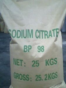 Food Additives Sodium Citrate pictures & photos