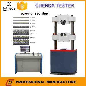 Wew Hydraulic Universal Tensile Strength Tesing Machine Price