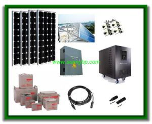 1kw-2kw-3kw-4kw-5kw off Grid Solar Power Energy System for Home pictures & photos