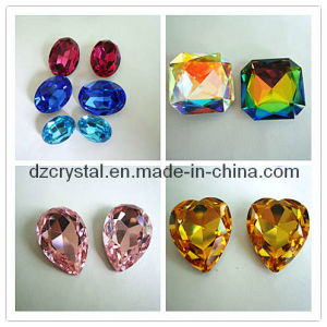 Artificial Crystal Jewelry Stone for Necklace Accessories pictures & photos