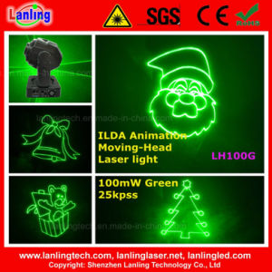 Ilda Green Laser Moving Head for Christmas pictures & photos