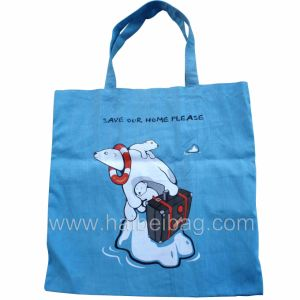 Promotion Cotton Fabric Bag (HBCO-25) pictures & photos