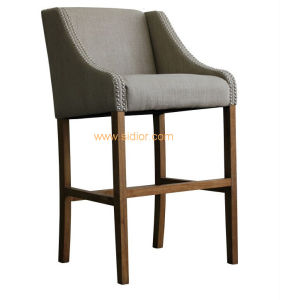 (CL-4412) Luxury Hotel Restaurant Club Furniture Wooden High Barstool Chair pictures & photos
