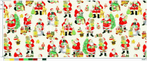 Hot Selling Polyester Christmas Designs Printed Mini Matt Fabic pictures & photos