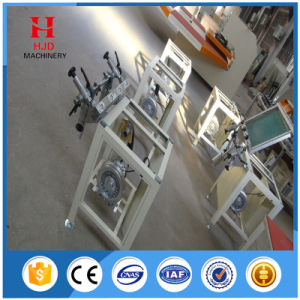 Manual Suction Screen Printing Machine Price with Suction Table for Sale pictures & photos