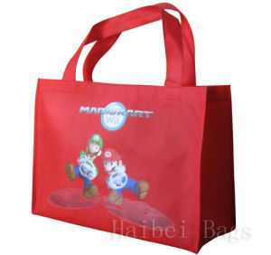Rcycled Red Promotion Bag (hbnb-508) pictures & photos