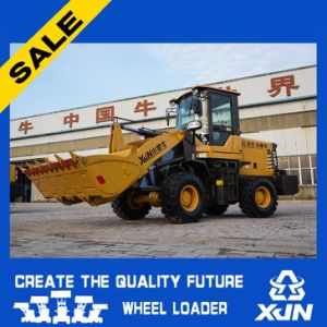 Small Type Wheel Loader 1.6ton with Quick Hitch with Ce Mini Small Wheel Loader pictures & photos