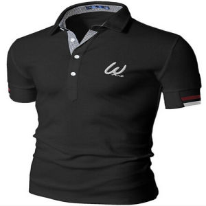 Mens Custom Logo Embroidery Polo Shirt pictures & photos
