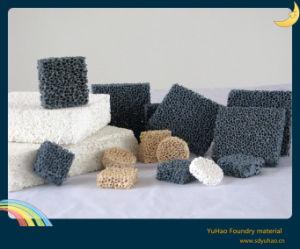 Carborundum Foam Ceramic Filter for Iron Fluid pictures & photos