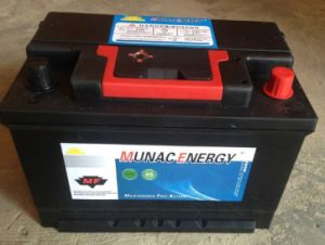 DIN60mf 12V60ah Lead Acid Maintenance Free Car Storage Battery pictures & photos