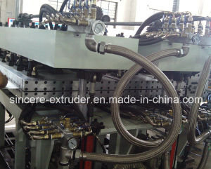 PC PP Sunlight Panel Making Machine Hollow Sheet Extrusion Line UV+PV pictures & photos